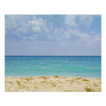 Mexico, Playa Del Carmen, seascape 4 Poster