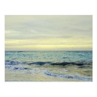 Mexico, Playa Del Carmen, seascape 5 Postcard
