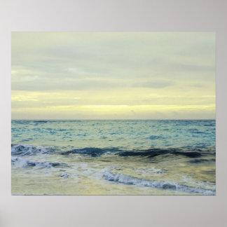 Mexico, Playa Del Carmen, seascape 5 Poster