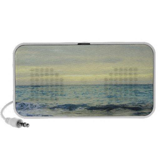 Mexico, Playa Del Carmen, seascape 5 Laptop Speakers