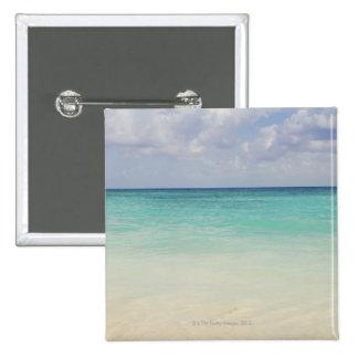 Mexico, Playa Del Carmen, seascape 2 Inch Square Button