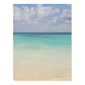 Mexico, Playa Del Carmen, seascape Post Card