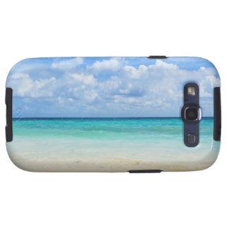 Mexico, Playa Del Carmen, tropical beach Galaxy S3 Covers