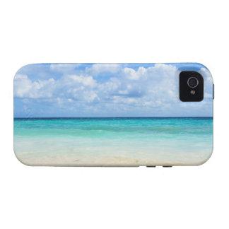 Mexico, Playa Del Carmen, tropical beach Case-Mate iPhone 4 Case