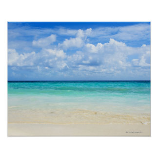Mexico, Playa Del Carmen, tropical beach Poster