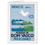 Mexico Posada de Don Vasco Patzcuaro Greeting Card