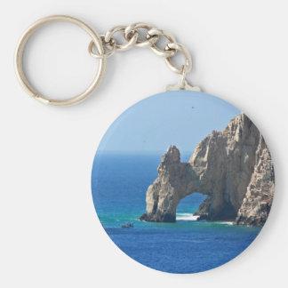 Mexico Postcard - Cabo San Lucas Keychain