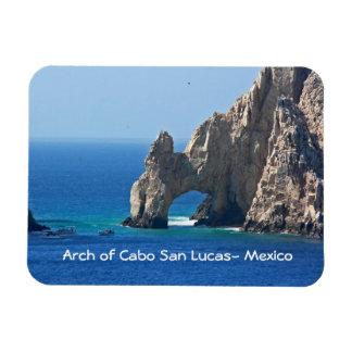 Mexico Postcard - Cabo San Lucas Rectangular Photo Magnet