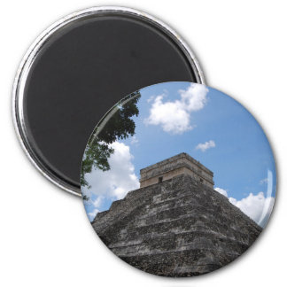 Mexico Postcard - Chichén Itzá Magnet