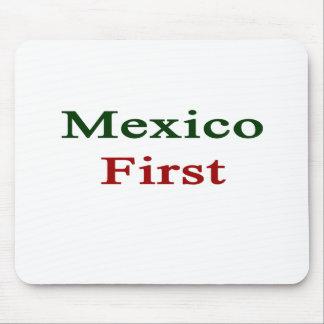 México primero alfombrilla de ratones