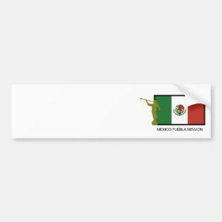 MEXICO PUEBLA MISSION LDS CTR BUMPER STICKER
