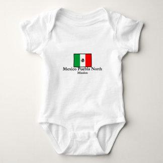 Mexico Puebla North Mission Baby Bodysuit