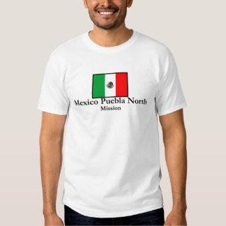 Mexico Puebla North Mission T Shirt