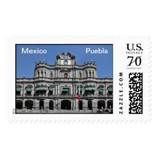 Mexico - Puebla - Zocalo Postage
