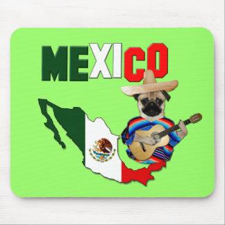 Mexico Pug - Mousepad