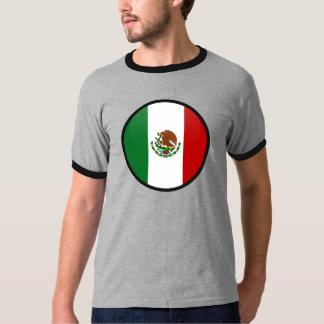 Mexico quality Flag Circle T-Shirt