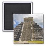 México, Quintana Roo, cerca de Cancun, Chichen 2 Imán Cuadrado