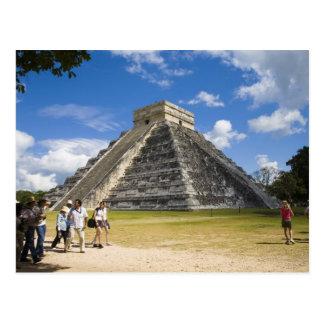 México, Quintana Roo, cerca de Cancun, Chichen 4 Postal