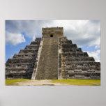México, Quintana Roo, cerca de Cancun, Chichen Póster