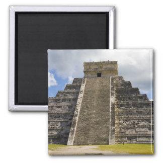 Mexico, Quintana Roo, near Cancun, Chichen 2 2 Inch Square Magnet