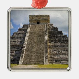 Mexico Quintana Roo near Cancun Chichen 2 Christmas Tree Ornament