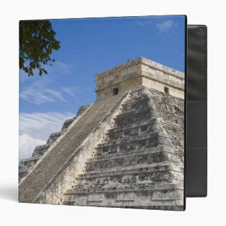 Mexico, Quintana Roo, near Cancun, Chichen 3 Ring Binder