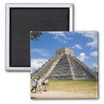 Mexico, Quintana Roo, near Cancun, Chichen 4 Fridge Magnets