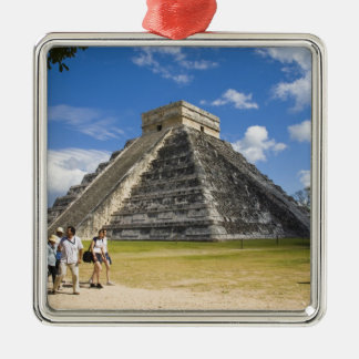 Mexico Quintana Roo near Cancun Chichen 4 Ornaments