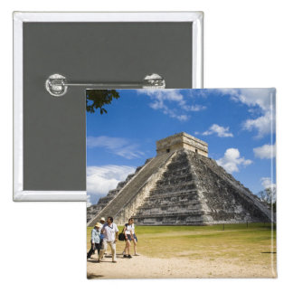 Mexico, Quintana Roo, near Cancun, Chichen 4 Pinback Button
