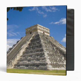 Mexico, Quintana Roo, near Cancun, Chichen 5 3 Ring Binder
