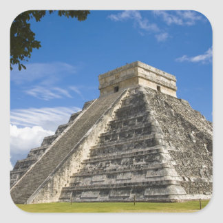 Mexico, Quintana Roo, near Cancun, Chichen 5 Square Sticker