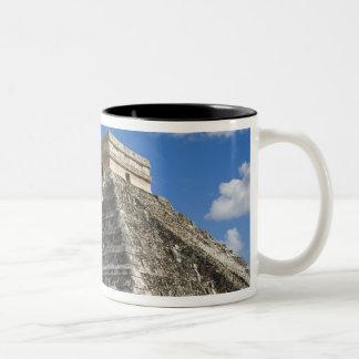 Mexico, Quintana Roo, near Cancun, Chichen 5 Two-Tone Coffee Mug