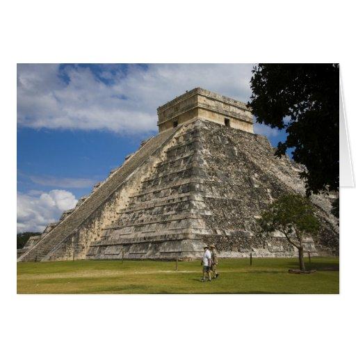 Mexico, Quintana Roo, near Cancun, Chichen 6 Greeting Card