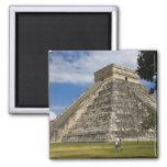 Mexico, Quintana Roo, near Cancun, Chichen 6 Refrigerator Magnets