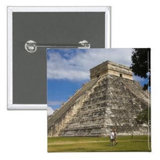 Mexico, Quintana Roo, near Cancun, Chichen 6 Pinback Button