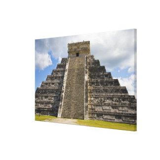 Mexico, Quintana Roo, near Cancun, Chichen Canvas Print