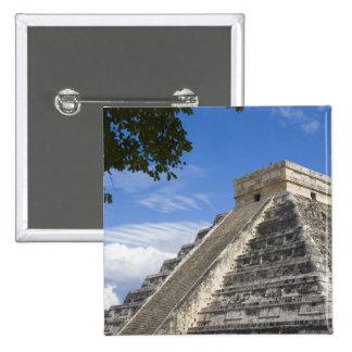 Mexico, Quintana Roo, near Cancun, Chichen Pinback Button