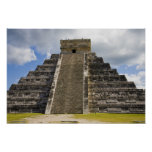 Mexico, Quintana Roo, near Cancun, Chichen Poster