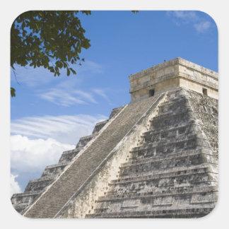 Mexico, Quintana Roo, near Cancun, Chichen Square Sticker