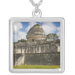 Mexico, Quintana Roo, near Cancun, Square Pendant Necklace