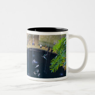 Mexico, Quintana Roo, near Chichen Itza, Two-Tone Coffee Mug