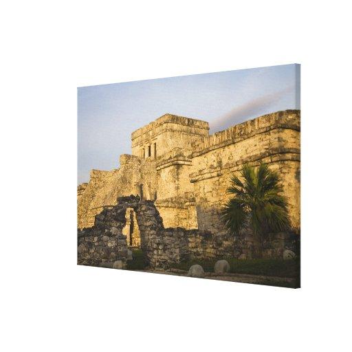 México, Quintana Roo, península del Yucatán, Lienzo Envuelto Para Galerías