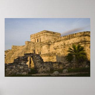 México, Quintana Roo, península del Yucatán, Póster