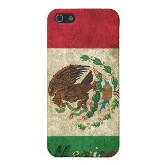México retro iPhone 5 cárcasas