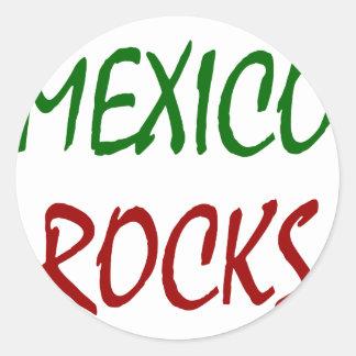 Mexico Rocks Stickers