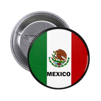 Mexico Roundel quality Flag Button