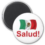 ¡México Salud! Imán Redondo 5 Cm