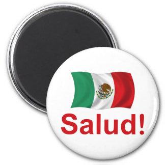 Mexico Salud! Fridge Magnet