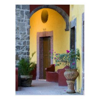 Mexico, San Miguel de Allende, Archway entrance Postcard