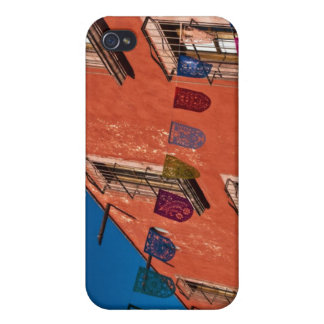 Mexico, San Miguel de Allende. Colorful banners iPhone 4/4S Cases